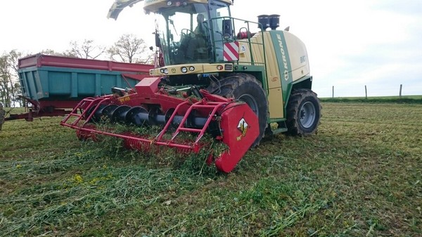 utilisation Pick-Up Herbe Repliable BMV - BM 48R -